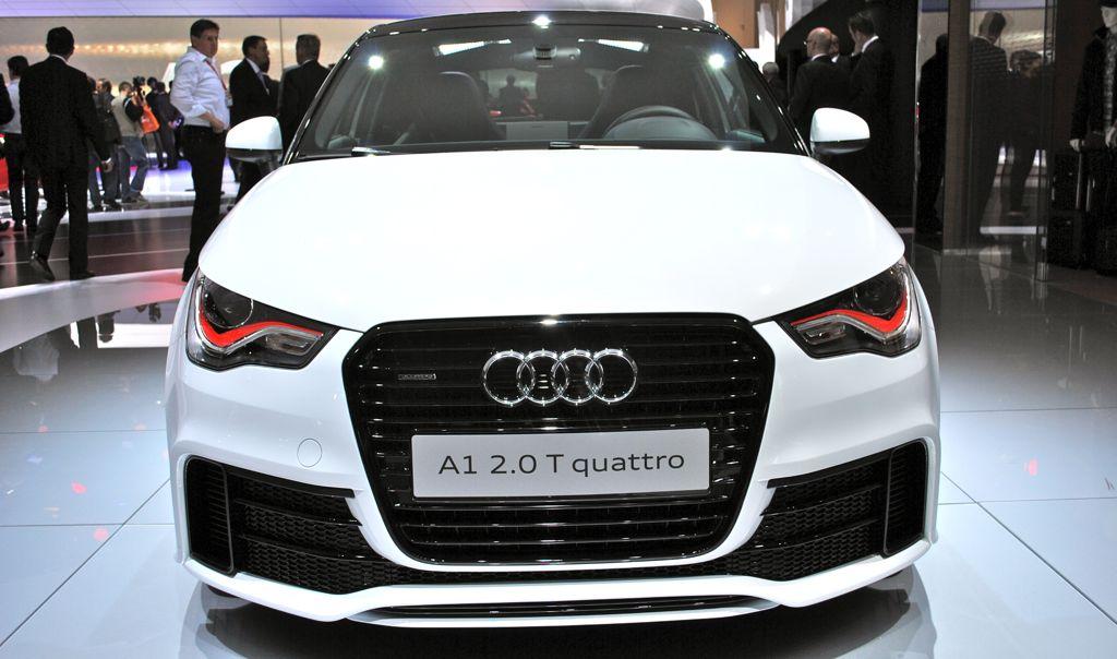 2012 Geneva: 2013 Audi A1 quattro