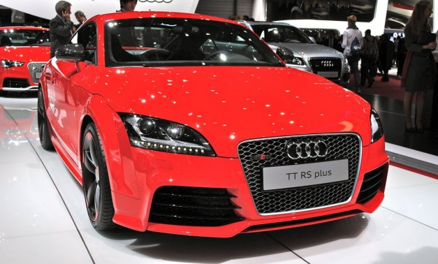 2012 Geneva: 2013 Audi TT RS Plus gets a little additional boost