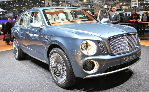 2012 Geneva: Bentley EXP 9 F SUV Concept is extremely beautiful… on the inside (w/ Poll)