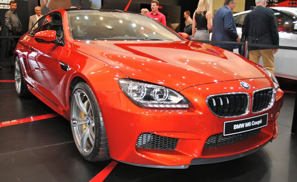 2012 Geneva 2013 Bmw M6 Is The Lady In Red At The Geneva