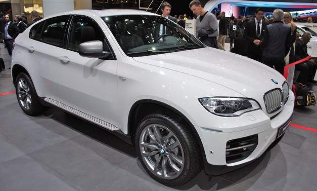 2012 Geneva: BMW X6 M50d