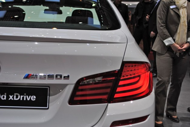2012 Geneva: BMW M550d