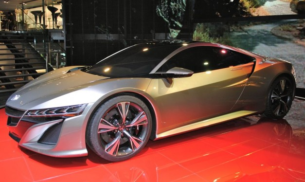2012 Geneva: Honda NSX