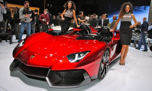 2012 Geneva: Lamborghini Aventador J sells for $2.8 million