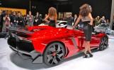 2012 Geneva: Lamborghini Aventador J