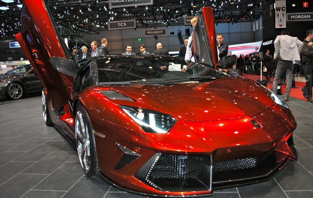 2012 Geneva: Mansory Lamborghini Aventador