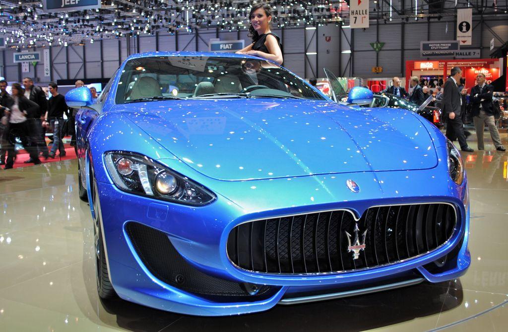 2012 Geneva: 2012 Maserati GranTurismo Sport