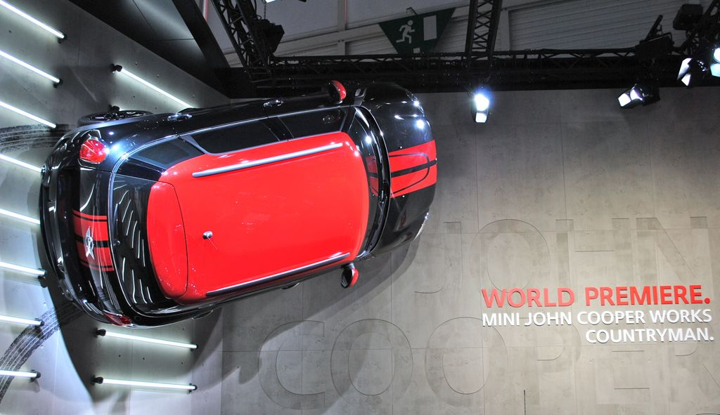 2012 Geneva: 2013 Mini John Cooper Works Countryman