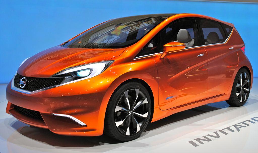 2012 Geneva: Nissan Invitation Concept