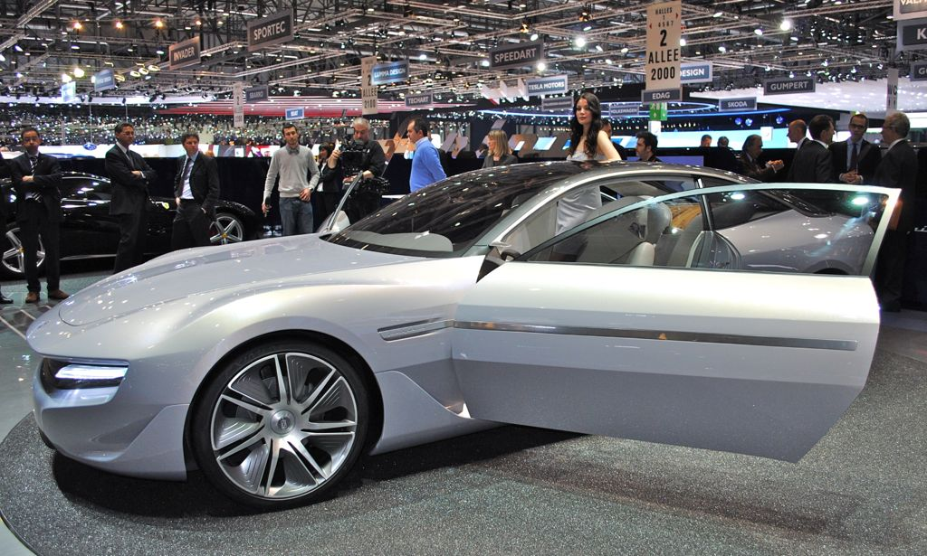 2012 Geneva: Pininfarina Cambiano Concept