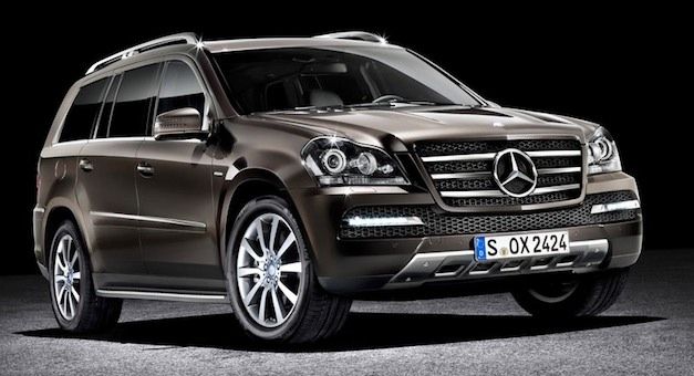 2013 Mercedes-Benz GL-Class coming to the 2012 New York Auto Show