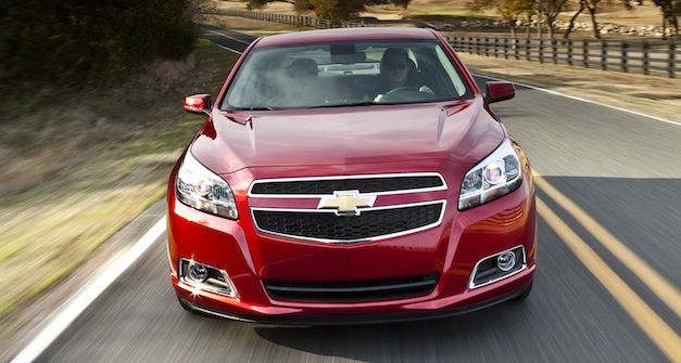 Official: 2013 Chevrolet Malibu 2.5L Ecotec makes 197 hp, Ecotec 2.0L turbo makes 259 hp