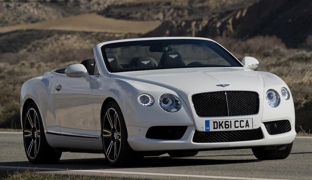 2013 Bentley Continental GTC V8 drops its top before Geneva debut ...