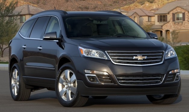 2013 Chevrolet Traverse gets updated exterior and interior, coming to New York