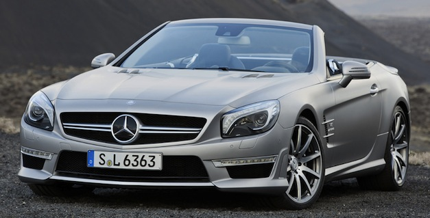 Brand Spankin' New Images: 2013 Mercedes-Benz SL63 AMG