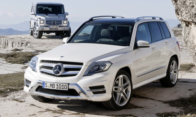 2013 Mercedes-Benz GLK unveiled, GLK250 BlueTEC diesel coming in 2013