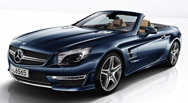 2013 Mercedes-Benz SL65 AMG unveiled, gets 630-hp V12 twin-turbo