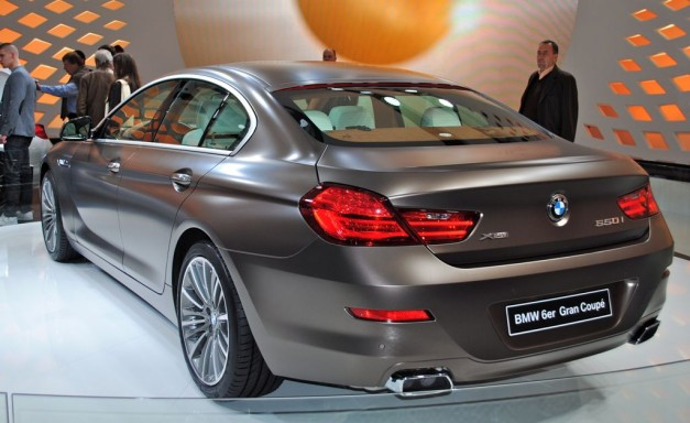 2011 Geneva: 2013 BMW 6-Series Gran Coupe