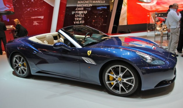 2012 Geneva: 2013 Ferrari California
