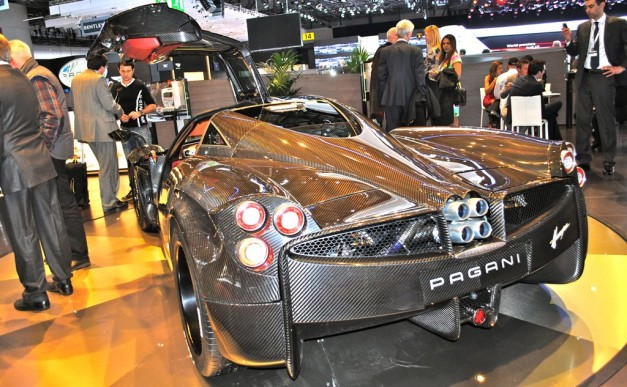 2012 Geneva: Pagani Huayra Carbon Edition