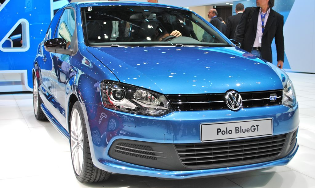 2012 Geneva: Volkswagen Polo BlueGT