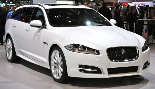 2012 Geneva: 2013 Jaguar XF Sportbrake unveiled, not coming to the States