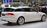 2012 Geneva: 2013 Jaguar XF Sportbrake