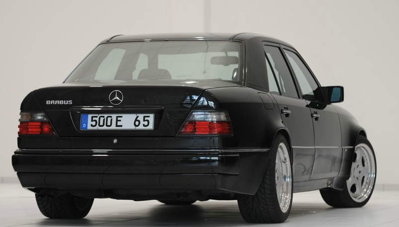 Mercedes Benz W124 Brabus 6 5 Rear 3 4 Right Egmcartech