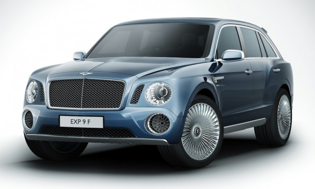 Bentley SUV Concept EXP 9 F shows itself before Genève Motor Show