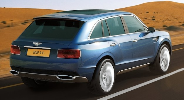 Bentley EXP 9 F Concept Rear