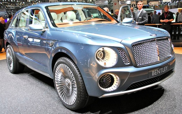 Bentley SUV EXP 9 F Concept