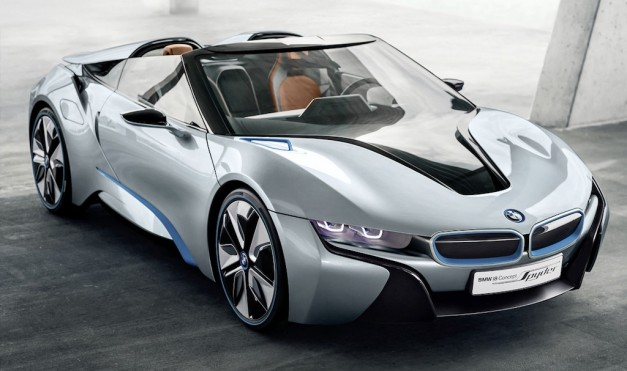BMW i8 Spyder Concept makes its online debut, will drop-top in New York next week