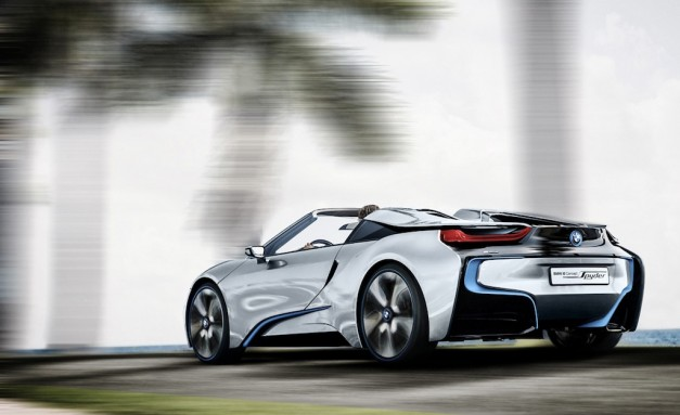 Report: BMW apparently turns down i8 Spyder and variants to 7-Series