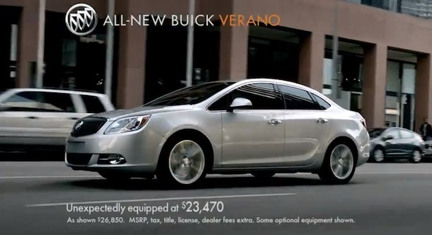 buickveranoquietad 2012 Buick Verano to star in Celebrity Apprentice, two new ad spots debut (w/ Videos)