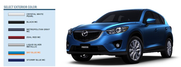 Build your own 2013 Mazda CX-5