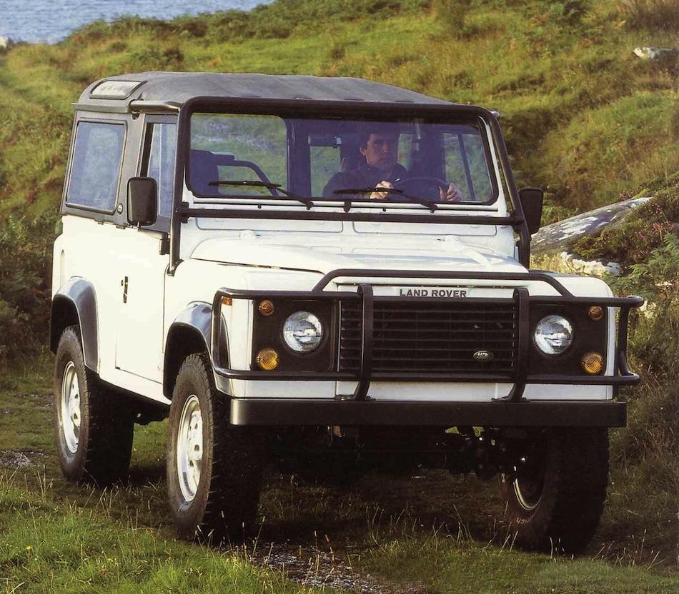 Land Rover Defender Old