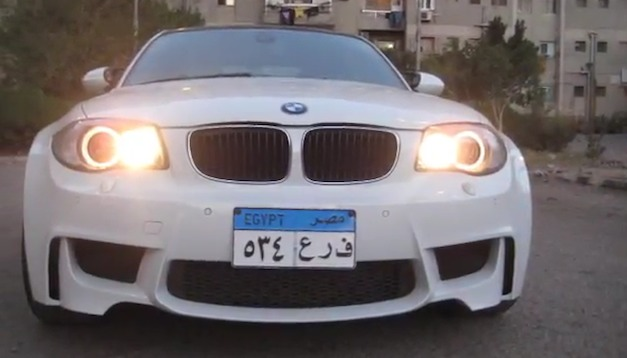 Video: Egyptian builds his very own BMW 1 Series M out of 120d, swaps engine for M3′s V8