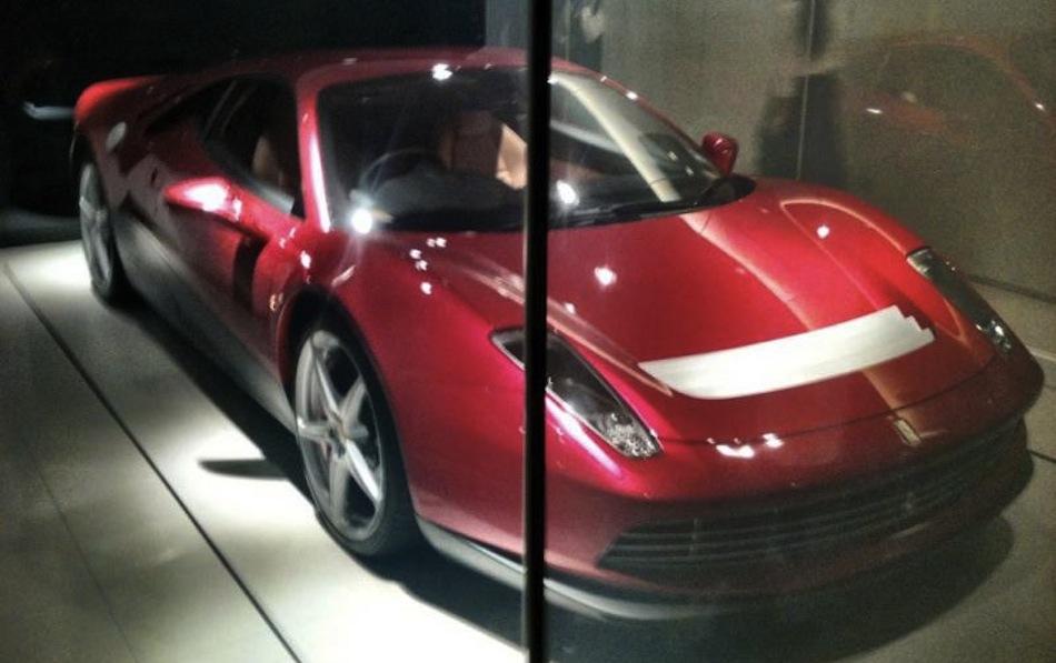 Eric Clapton Ferrari 458 Italia Spy Shot