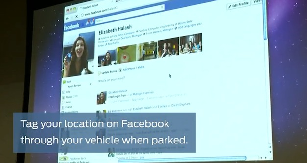 Facebook and Ford SYNC