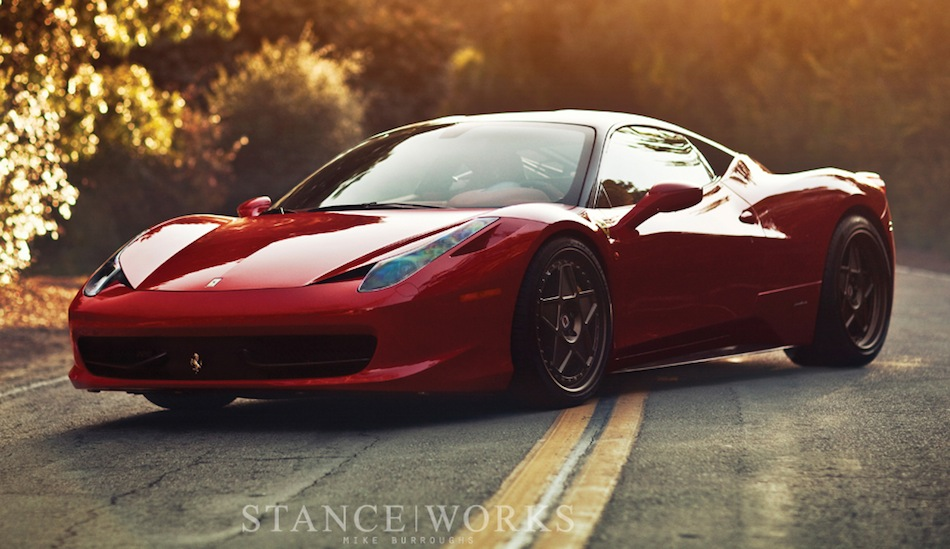 Ferrari 458 Italia StanceWorks