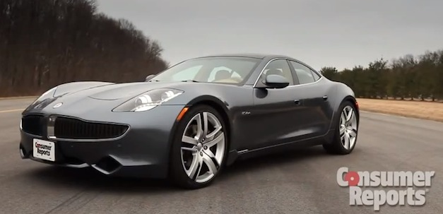 Video: Consumer Reports posts first review on Fisker Karma, isn&#8217;t too pleased