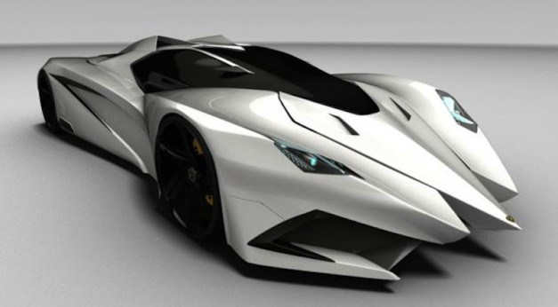 Lamborghini Ferruccio Design Study by Marc Hostler is very extreme