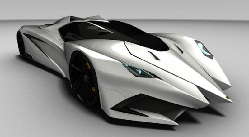 Lamborghini Ferruccio Concept Marc Hostler