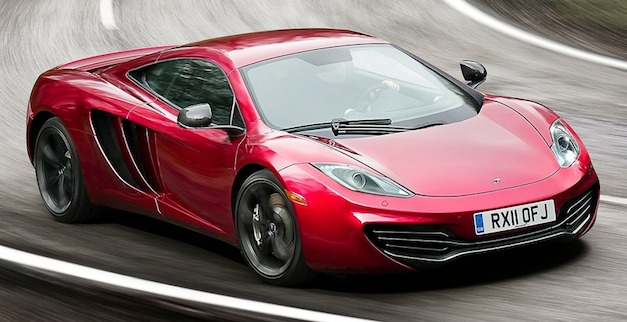 Live in the UK? Rent a McLaren MP4-12C from Hertz for 1,134 pounds