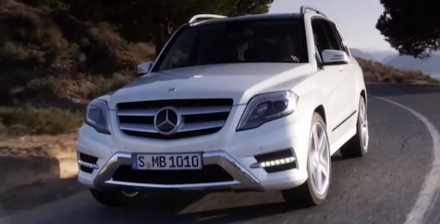 Videos: 2013 Mercedes-Benz GLK-Class in Action
