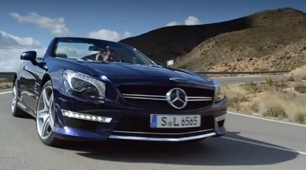 Video: 2013 Mercedes-Benz SL65 AMG in Action