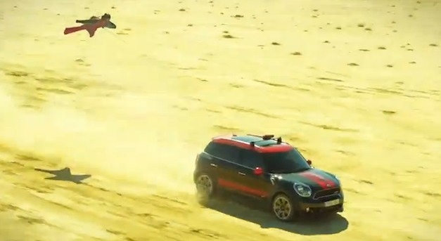 Video: Mini Countryman JCW gives wingsuit flying a whole new meaning… and it's amazing