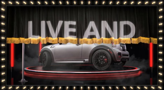 miniroadsterlivepeep Video: 2012 Mini Roadster live and exotic peep show