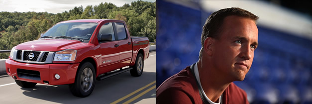 Nissan Titan - Peyton Manning