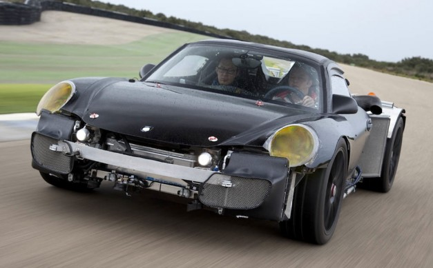 Porsche gives some a first ride in the 918 Spyder prototype